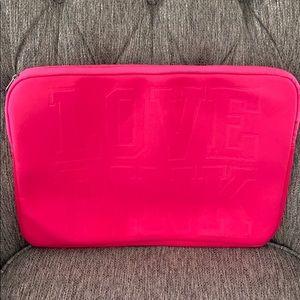 Victoria Secrets Pink LapTop Case